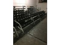 TECHNOGYM DUMBBELLS FORSALE!!