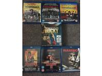Stallone Blu Ray DVD Collection