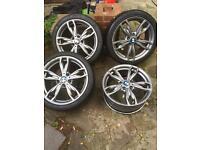 Bmw m135i m235i alloy wheels oem