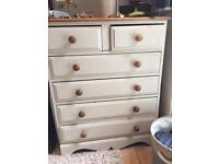 Farmhouse style chest of drawers
