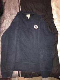 Navy converse sweatshirt