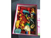 Box of 80's Duplo with box