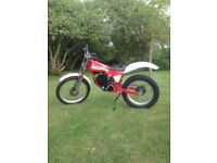 Fantic Trials Motor Bike 250cc