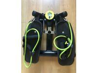 swing stepper fitness exercise