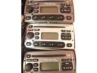 Ford cd6000 CD players for transit mk6 mk1 focus, fiesta escort etc