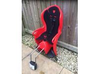 Halfords child infant bike seat