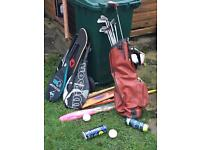Unwanted sports items