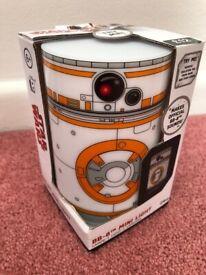 Brand New - Star Wars BB8 Mini Light - Disney - Makes Official Sounds