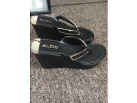 Platform / wedge sandals from Aldo size 5
