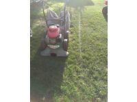 Billygoat garden vac with Honda engine