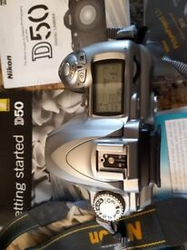 Nikon D50 BODY ONLY with Battery & Charger - £50