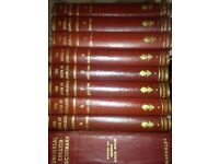 Complete Book of Knowledge inc. Universal English Dictionary (Volumes 1-8) excellent condition