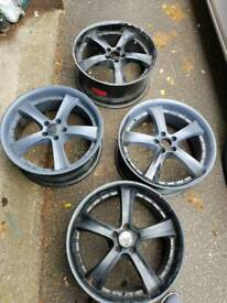 Rs vr5 rims for sale