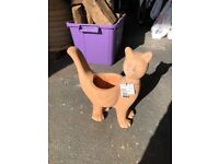 Cat Terracotta Planter 37cm