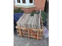 Indian sand stone Paving slabs 15 square meters of marshal Indian sand stone