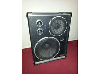 Scott bass or PA bin speaker- great for home practise studio or spare.