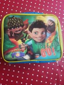 Children's insulated lunch bag tree fu tom