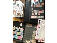 Bulk Lot of Stamps / Postcards / Covers