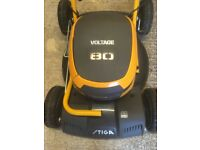 Stiga Multiclip 50S AE 48cm 80 volt self-propelled battery lawnmower