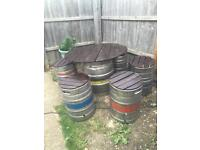 Beer Keg Patio Set