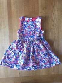 Laura Ashley girls cotton dress age 2-3