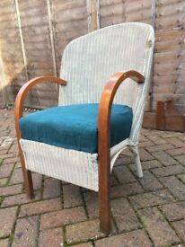 *** Retro wicker/rattang armchair ***
