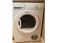 Hot point tumble dryer 8kg TCYM 750 style - condenser