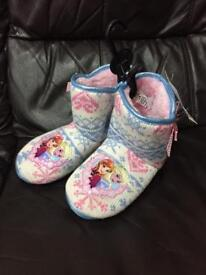 New girls slippers/boots sz.1 kids