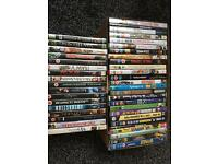 43 used dvds