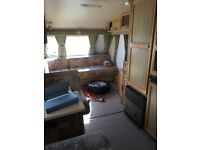 Caravan Elddis Jet Stream with awning accessories