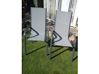 GARDEN CHAIRS. TWO BRAND NEW