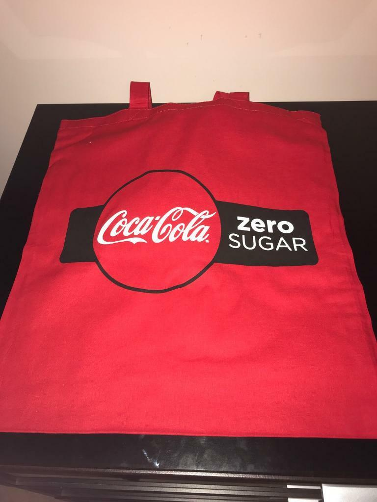 Coca Cola Zero bag for life - will post out
