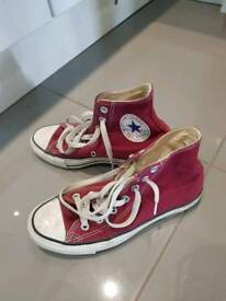 Converse maroon/red all stars