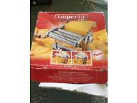 Imperia pasta maker Vgc box tatty but item like new