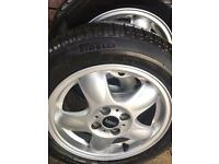 Mini one-4 alloy wheels