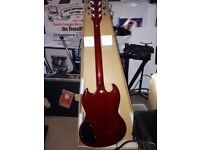 Westfield SG style guitar brand new in perfect condition.