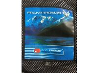 Frank Thomas Mens biker armoured jacket motorcycle jacket XL