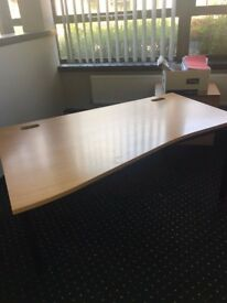 office furniture 1.6 meter wave desks