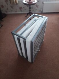 Single folding bed - never used- excellent condition