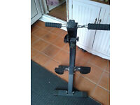 Exercise bike free standing