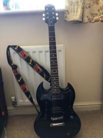 Epiphone SG G-310 black electric guitar
