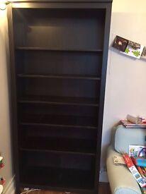 Black ikea book shelf