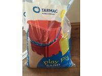 Tarmac play pit sand bag
