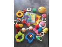 Vintage baby toy bundle