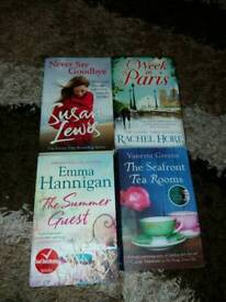 4 books in very good condition