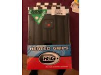 R&G 22mm Heated Grips Unused - NEW IN BOX