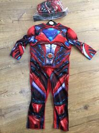 New style Power Rangers costume and mask 3-4