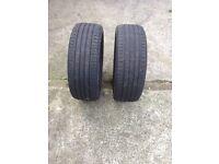 Set of bravuris tyres £30