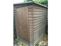 6ft x 4ft wooden shed