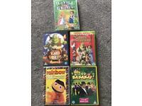 Selection of kids DVDs - Shrek, Rainbow, Wiggles, Hansel & Gretal